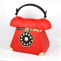 Canada New Fashion Vintage Phone Styling Red Black pu cuir ladies Evening Bag sacs à main casual sac à main sacs à main sacs à main Z072 Offre