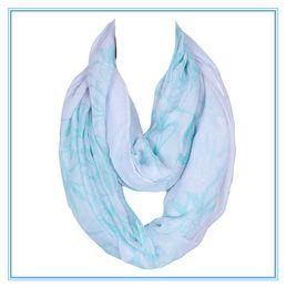 Wholesale Hijab Voile - Hot Sale Fashion Women Warp Ring Wholesale Voile Printing Femme Scarves Shawls Foulard Hijab Infinty Echarpe 180*50cm 2017 New