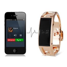 Wholesale Golden Bracelets For Men - Bluetooth SmartWatch D8 Health Bracelet Wristband Fuel Band for iPhone Samsung Android Phones D8 for Fashion Men Women Smart Watch