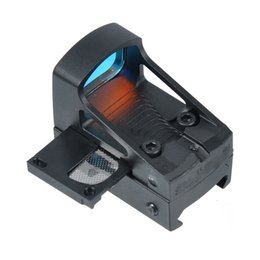 Wholesale Pistol Glock - Tactical RMS Reflex Mini Red Dot Sight With Vented Mount and Spacers For Glock Pistol Aluminium Black