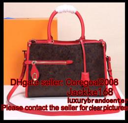 Wholesale Boston Bag Strap - NEW POPINCOURT PM womens ladies handbag tote long strap M54704 N64418 bag M43462 M43463 M43434 460029 luxury brown flower 419584 N41500 32cm