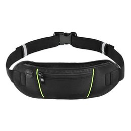 Wholesale Running Phone Belt - Waist Bags Running Fanny Pack Women Waist Pack Pouch Belt Bag Men Purse Mobile Phone Pocket Case Camping Hiking Sports Bag