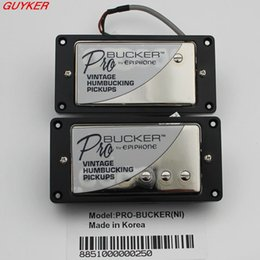 Wholesale Guitar Wiring Harness - 1 Set EPi ProBucker N and B Electric Guitar Humbucker Pickups with Pro Wiring Harness Pots Switches