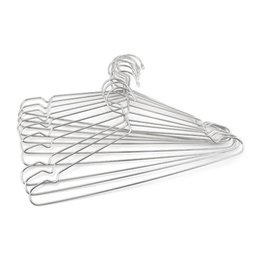 Wholesale Dress Racks - Stainless Steel 40cm Hangers For Clothes Antiskid Drying Clothes Coat Storage Organizer Rack Adult And Children Hanger ZA3327