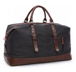 Wholesale Army Duffel Bag Green - New fashion men women laptop travel bag canvas zippers designer luggage handbags large capacity sport bag