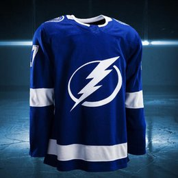 Wholesale Orange Bay - 2017-2018 Season Custom Ryan Callahan Erik Condra Nikita Kucherov Jake Dotchin Andrej Sustr Peter Budaj Tampa Bay Lightning Hockey Jerseys