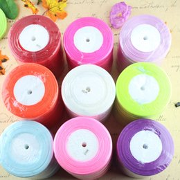Wholesale Product Width - Chiffon Ribbon Decor Accessory Riband 1.2cm Width 25 yard A Roll DIY Crafts Ribbon For Wedding And Celebration Party Product Code115-1026