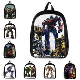 Wholesale Dhl Bumblebee - 16-inch Bumblebee School Bags Mochilas Transformers Backpacks Boys Favourite Cartoon Bag Transformers.Best Gifts 31 styles DHL Free Shipping