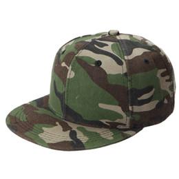 Wholesale Camouflage Baseball Hats - Wholesale- 1Pcs Summer Fashion Men Women Unisex Adjustable Baseball Caps Outdoor Blank Snapback Caps HipHop Hats Camouflage Sun Hats