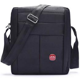 Wholesale Ipad Crossbody Bag Men - New Men Oxford Messenger Bag New Casual Fashion Leisure Splash Resistant Black Nylon Crossbody iPad Mobile Phone Pouch Purse Shoulder Bag