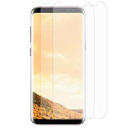 Wholesale Flexible Curve - Galaxy S8 Plus Screen Protector HD Flexible Protective Film Full Coverage Case Screen Protector for Samsung Galaxy S8 Plus