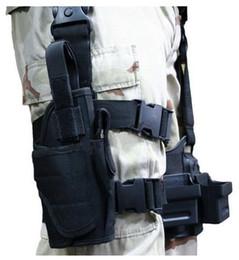 2019 gamba della cintura 2017 Molle Outdoor Bag Pack Multi-funzionale Caccia Tactical Pouch Bag Holster con cintura smontabile Spedizione gratuita gamba della cintura economici