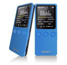 "Wholesale Digital Video Recorder Player - Mini RUIZU X08 1.8 ""Speaker Screen MP3 Player 8 GB 200 Hours Digital Sports MP3 Music Player TF FM HIFI Radio Video Player walkman"