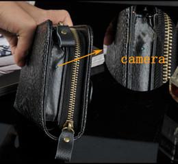 Wholesale Hide Handbag - 8GB 1920x1080P HD Hidden Spy Camera Men handbags DVR Video Recorder purse camcorder Support Photo Taking Remote control