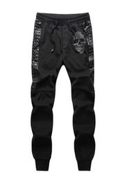Wholesale Mens Casual Camo Pants - Wholesale- Mens Joggers Pants New Hip Hop Men Pants Camouflage Pencil Pants Skinny Sweatpants Trousers Man Camo Joggers
