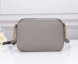 Wholesale United Designers - Single shoulder bag messenger bag fashion women chain bag Europe and the United States popular square package Classic famous designers Free
