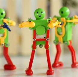 Wholesale Clockwork Wholesale - Robot Up Dancing Toys Dancing Top Chain Toys Clockwork Robot Toys lovely dancing disco robot Kids Wind-up Toy