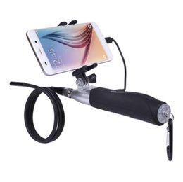 Tubo de la cámara de boroscopio online-2017 Best Selling Handheld 1m Tubo Duro Boroscopio Endoscopio A Prueba de agua 6LED USB Endoscopio Cámara Tubo de Serpiente Tubo Boroscopio
