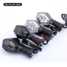Wholesale Led Rear Turning Motorcycle Light - For SUZUKI GSF 600 650 1200 1250 N S Bandit Motorcycle Accessories Front Rear LED Turn Signal Indicator Lights Blinker Lamp