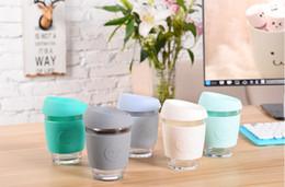 Wholesale Cup Smiling - FEDEX SEND Candy smile Glass Safe 12oz Keep coffee cup Coffee Mug JOCO Tumbler Cooler Australian coffee Mugs Travel Cups