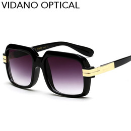 Wholesale Purple Frame Glasses - Vidano Optical 2017 New Arrival Luxury Oversized Square Sunglasses For Men & Women Summer Stylish Fashion Designer Sun Glasses UV400