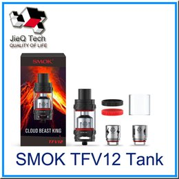 Wholesale Sub 12 - SMOK TFV12 Tank Cloud Beast King 6.0ml Top Refilling Sub Ohm TFV 12 Atomizer Fit V12-T12 V12-X4 V12-Q4