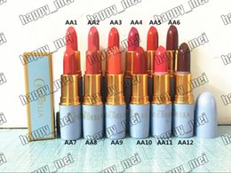 free lipsticks Promo Codes - Free Shipping ePacket New Makeup Lips 3g Cinderella Lustre Lipstick!12 Different Colors