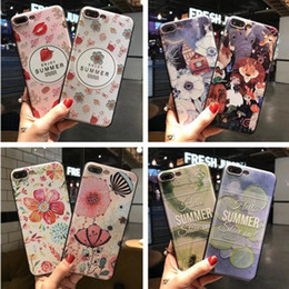 Wholesale Manufacturers Mobile Phone Case - For iphone7 8plus cell phone cases with iphone6s Creative gifts painted embossed TPU soft shell manufacturers wholesale mobile phone shell