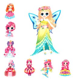 Wholesale Sweet Cabochons - Sweet Fairy Princess Girls Resin Planar Cabochons Resin Craft DIY Kids Birthday Party Jewelry Accessories Embellishment 30Pcs