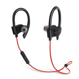 DHL доставка 56 с беспроводной Bluetooth наушники водонепроницаемый IPX5 наушники Спорт работает гарнитура стерео бас наушники Handsfree с микрофоном от
