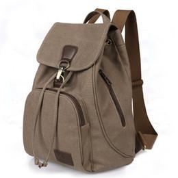 Wholesale Retro Gym Bags - 2017 New retro tide girls outdoor canvas designer backpacks bag fashion shoulder bag sports backpacks