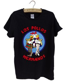 Wholesale Los Pollos Hermanos T Shirt - Wholesale-Breaking Bad female tShirt 2016 summer LOS POLLOS Hermanos funny T Shirt women Chicken Brothers harajuku brand women tops hiphop