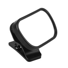 Wholesale Rear Back Mirror - Mini Safety Car Back Seat Baby View Mirror 2 in 1 Adjustable Baby Rear Convex Mirror Car Baby Kids Monitor Car Accessories