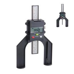 Freeshipping цифровой глубиномер 80 мм с магнитными ногами ЖК-датчики высоты суппорты для маршрутизатора таблицы деревообрабатывающие измерительные инструменты от Поставщики магнитный стол