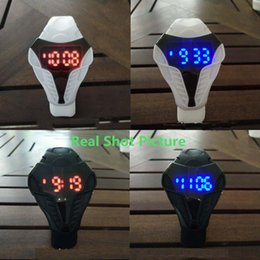 Wholesale Cobra Shape - New Fashion Cobra Snake Watch Domineering LED Digital Watch Student Watches Kids Gift Couples Watch