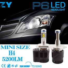 P6 führte scheinwerfer online-Autoteile HB4 führte Scheinwerfer P6 führte canbus Autobirne 55w 5200lm Scheinwerfer für Gebrauchtwagen