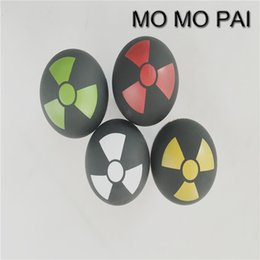 Wholesale Momo Shift Knob Red - Car styling AT momo pai metal n-bomb logo gear shift knob shifter lever UNIVERSAL fit for AUDI BMW ROVER CIVIC MAZADA