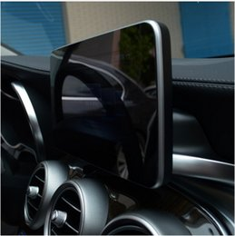 Wholesale 17 Panel - Center Control Navigation Screen Protection Trim Panel For Mercedes Benz C class W205 GLC 200 260 2015-17 Car Styling