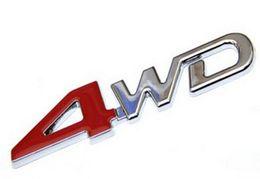 Аксессуары для аксессуаров toyota онлайн-3D ABS Chrome 4WD Эмблема Значок Стикера 4WD Наклейка Аксессуары Спортивные Наклейки Для Toyota Highlander Для NISSAN X-Trail Xtrail