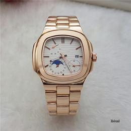 Wholesale Glow Watches - 2017 Luxury watch brand luxury high quality men's top military sports chronograph watch glow Huang Jingang quartz watch