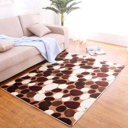 Wholesale Red Black Living Room - Wholesale Floor Rug Anti-Slip Floor Mats Indoor Area Rug Soft Carpet for Bedroom Living Room Home Decor Size S-L