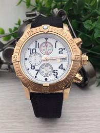 Wholesale Watch Dials Seller - best seller brand watches men black edition watches gold case white dial watch quartz chronograph watch men ii4 wristwatches free shipping