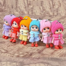 Wholesale Small Novelty Baby Toys - Christmas gift new Kids Toys Dolls Soft Interactive Baby Dolls Toy Mini Doll For Girls free shipping