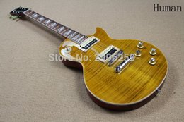 Wholesale Slash Lp Electric Guitar - Custom Shop lp slash guitar standard chrome hardware tiger maple cover buglet signature version electric guitar 100% real pics