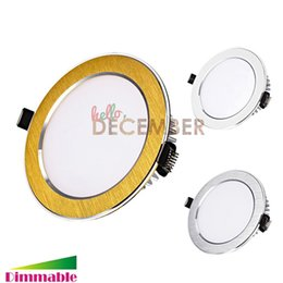 Wholesale Led Lights 3.5 Inch - Dimmable LED Ceiling Light Downlight 9W 12W 15W 18W 21W 3.5-4.5-5.5-6-7 Inch Recessed LED Ceiling Downlights