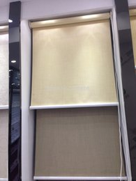 Wholesale Roller Roman Shades - Wholesale- Free shipping-high quality window shades 100% blackout roller blinds customized size many colour available