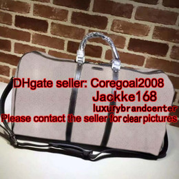 Wholesale Travel Body Bag Luggage - large business travel bag weekend duffle bag tote cross body famous brand Carry On Luggage GYM bag handbag 206500 146310 406380 50cm