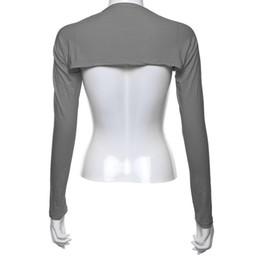 Wholesale Sleeve Inner Wholesale - Wholesale-Muslim hijab Hijab Muslim One Piece islamic arm sleeves Full Arm Sleeves Modal Jersey Arm Cover Shrug Bolero Inner Body