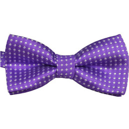 Wholesale Toddler Ties Wedding - Wholesale- Chic Baby Boys Infant Toddler Pre Tied Party Wedding Tuxedo Bow Tie Necktie Hot