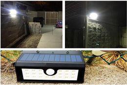 2019 12-вольтовая лампочка Солнечный приведенный в действие солнечный свет 20 светодиодных водонепроницаемый светочувствительный инфракрасный датчики лампы на открытом воздухе забор садовый путь настенный светильник